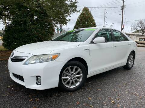 2011 Toyota Camry Hybrid for sale at Seaport Auto Sales in Wilmington NC