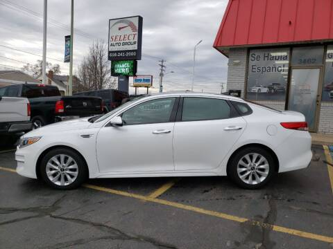 2016 Kia Optima for sale at Select Auto Group in Wyoming MI