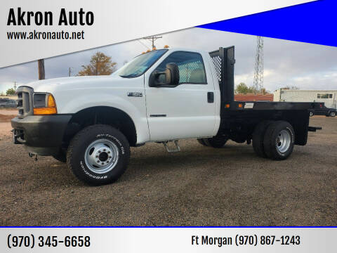 2001 Ford F-350 Super Duty for sale at Akron Auto in Akron CO