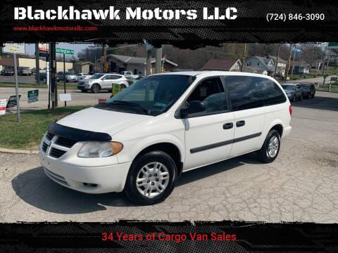 2006 Dodge Grand Caravan for sale at Blackhawk Motors LLC in Beaver Falls PA