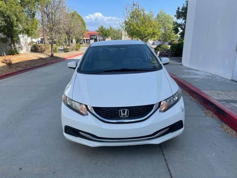 2014 Honda Civic for sale at Faith Auto Sales in Temecula CA