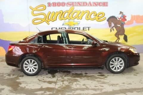 2012 Chrysler 200 for sale at Sundance Chevrolet in Grand Ledge MI