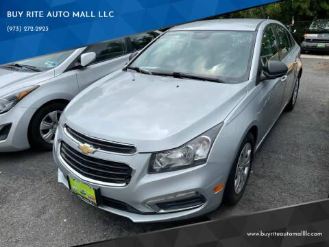 2015 Chevrolet Cruze for sale at BUY RITE AUTO MALL LLC in Garfield NJ