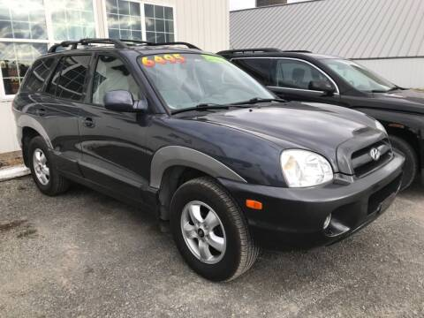 2005 Hyundai Santa Fe for sale at Forkey Auto & Trailer Sales in La Fargeville NY