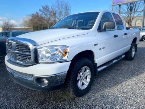 2008 Dodge Ram Pickup 1500 for sale at Universal Auto INC in Salem OR