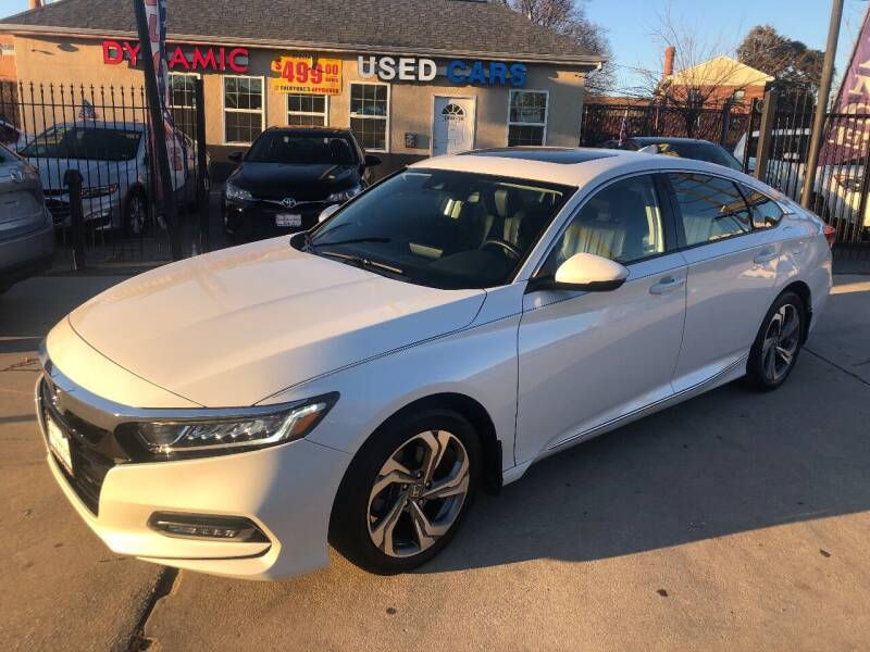 2018 Honda Accord for sale at DYNAMIC CARS in Baltimore MD