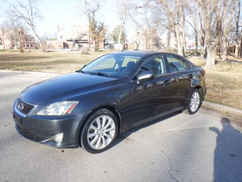 2007 Lexus IS 250 for sale at RENNSPORT Kansas City in Kansas City MO