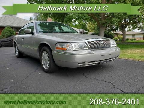 2005 Mercury Grand Marquis for sale at HALLMARK MOTORS LLC in Boise ID