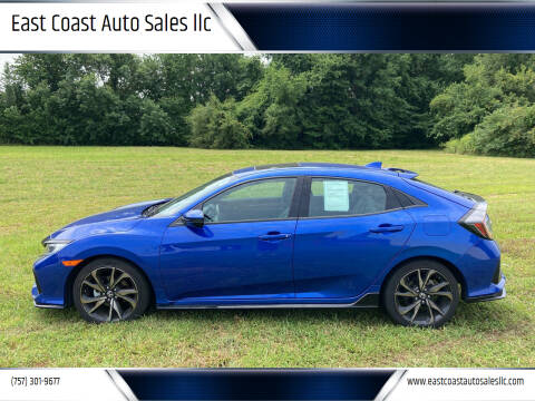 2018 Honda Civic for sale at East Coast Auto Sales llc in Virginia Beach VA