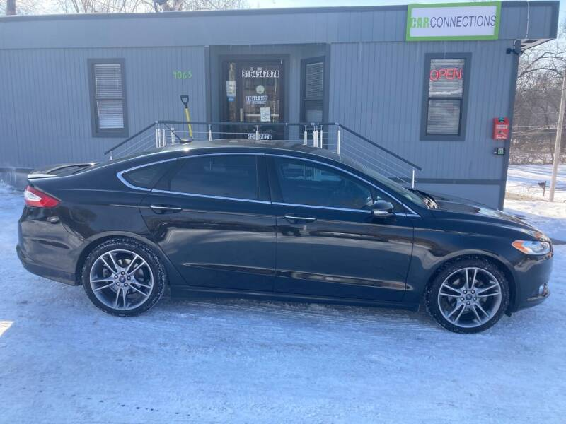 2015 Ford Fusion for sale at Car Connections in Kansas City MO