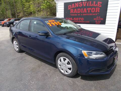 2014 Volkswagen Jetta for sale at Dansville Radiator in Dansville NY
