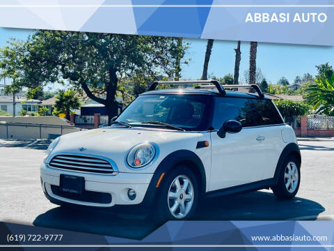 2010 MINI Cooper for sale at Abbasi Auto in San Diego CA