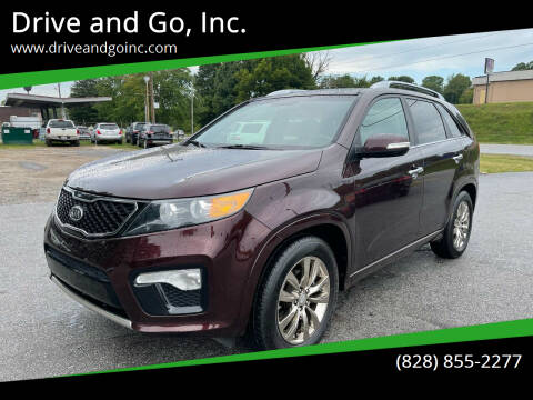 2011 Kia Sorento for sale at Drive and Go, Inc. in Hickory NC