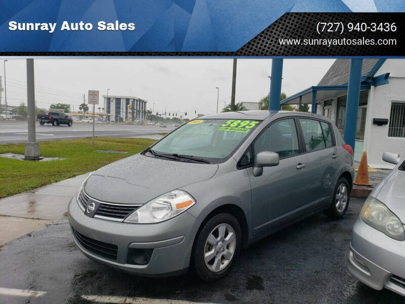 2008 Nissan Versa for sale at Sunray Auto Sales Inc. in Holiday FL