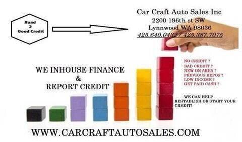 2010 Honda CR-V for sale at Car Craft Auto Sales Inc in Lynnwood WA