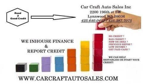2013 Volkswagen Beetle for sale at Car Craft Auto Sales Inc in Lynnwood WA