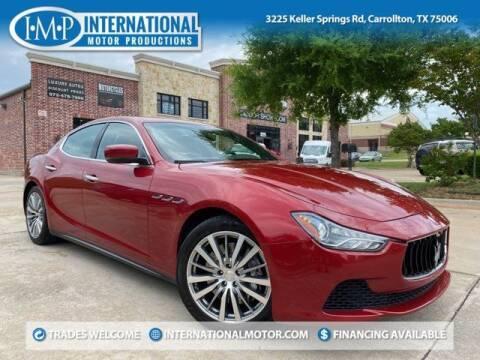 2015 Maserati Ghibli for sale at International Motor Productions in Carrollton TX