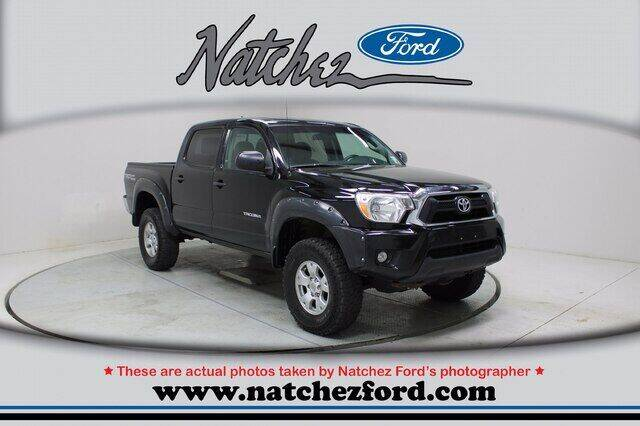 2015 Toyota Tacoma for sale at Auto Group South - Natchez Ford Lincoln in Natchez MS