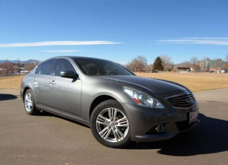 2013 Infiniti G37 Sedan for sale at Nations Auto in Lakewood CO