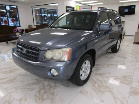 2002 Toyota Highlander for sale at Dealer One Auto Credit in Oklahoma City OK