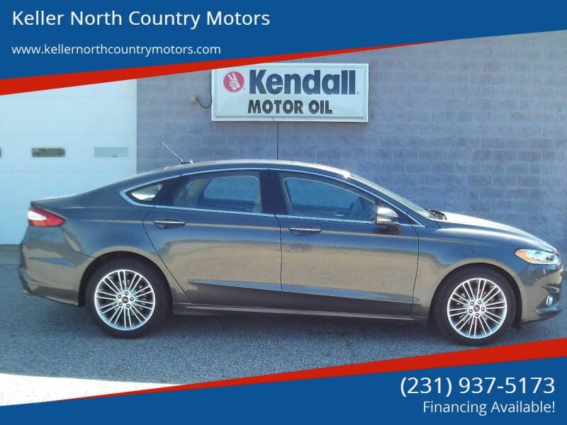 2015 Ford Fusion for sale at Keller North Country Motors in Howard City MI