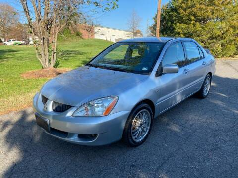 2004 Mitsubishi Lancer for sale at D&S IMPORTS, LLC in Strasburg VA