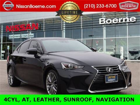 2017 Lexus IS 200t for sale at Nissan of Boerne in Boerne TX
