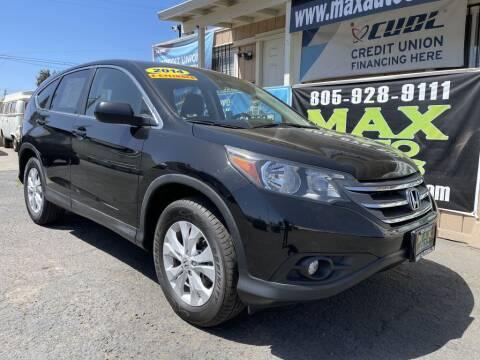 2014 Honda CR-V for sale at Max Auto Sales in Santa Maria CA