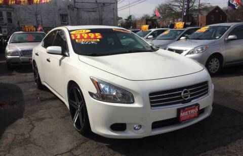 2011 Nissan Maxima for sale at Metro Auto Exchange 2 in Linden NJ
