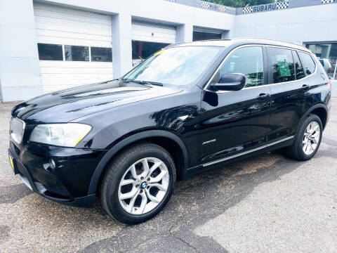 2011 BMW X3 for sale at J & M PRECISION AUTOMOTIVE, INC in Fort Collins CO