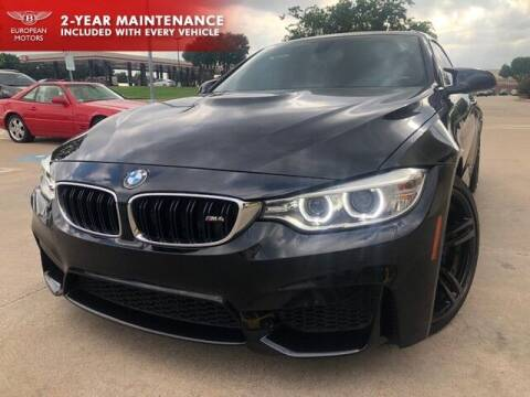 2015 BMW M4 for sale at European Motors Inc in Plano TX