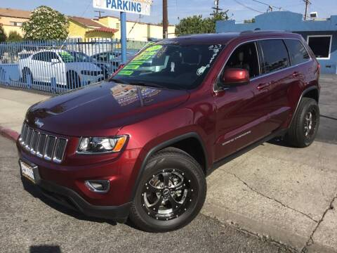 2016 Jeep Grand Cherokee for sale at LA PLAYITA AUTO SALES INC in South Gate CA