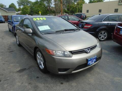 2006 Honda Civic for sale at DISCOVER AUTO SALES in Racine WI