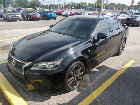 2015 Lexus GS 350 for sale at ORANGE PARK AUTO in Jacksonville FL