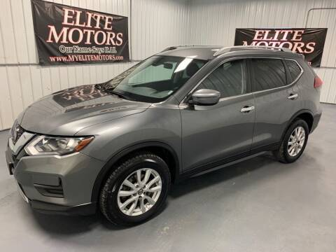 2019 Nissan Rogue for sale at Elite Motors in Uniontown PA