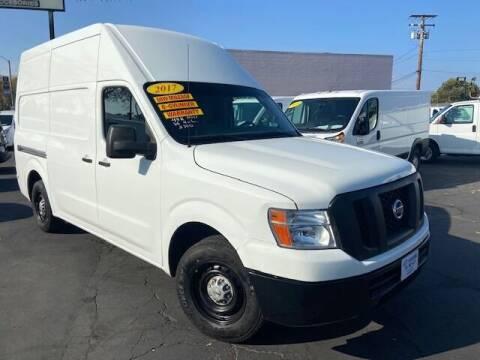 2017 Nissan NV Cargo for sale at Auto Wholesale Company in Santa Ana CA