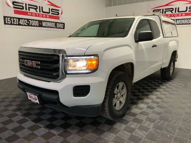 2016 GMC Canyon for sale at SIRIUS MOTORS INC in Monroe OH