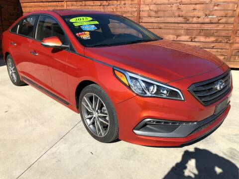 2015 Hyundai Sonata for sale at Speedway Motors TX in Fort Worth TX