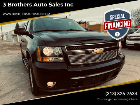 2012 Chevrolet Suburban for sale at 3 Brothers Auto Sales Inc in Detroit MI