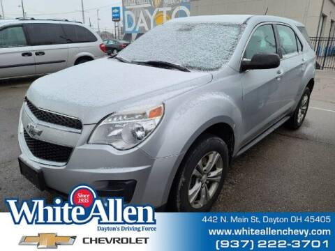 2014 Chevrolet Equinox for sale at WHITE-ALLEN CHEVROLET in Dayton OH