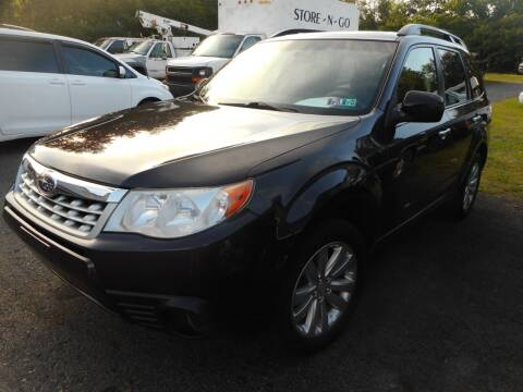 2013 Subaru Forester for sale at Automotive Toy Store LLC in Mount Carmel PA