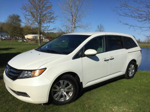 2014 Honda Odyssey for sale at K2 Autos in Holland MI