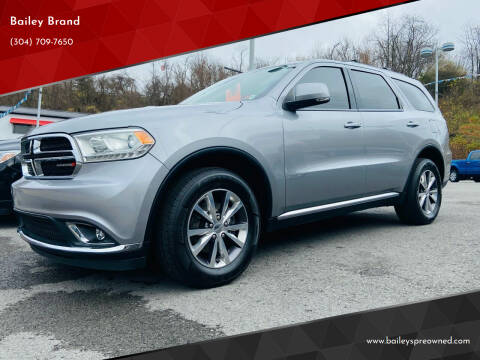 2016 Dodge Durango for sale at Bailey's Pre-Owned Autos in Anmoore WV