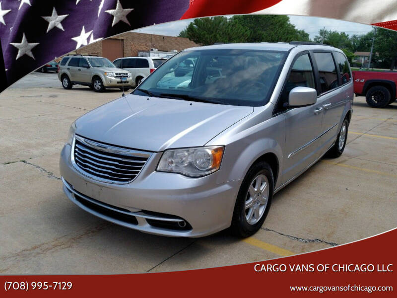 2012 Chrysler Town and Country for sale at Cargo Vans of Chicago LLC in Mokena IL