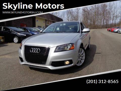 2012 Audi A3 for sale at Skyline Motors in Ringwood NJ