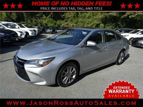 2017 Toyota Camry for sale at Jason Ross Auto Sales in Burlington NC