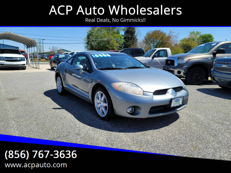 2007 Mitsubishi Eclipse for sale at ACP Auto Wholesalers in Berlin NJ