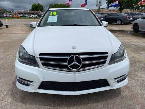 2014 Mercedes-Benz C-Class for sale at SOUTHWAY MOTORS in Houston TX