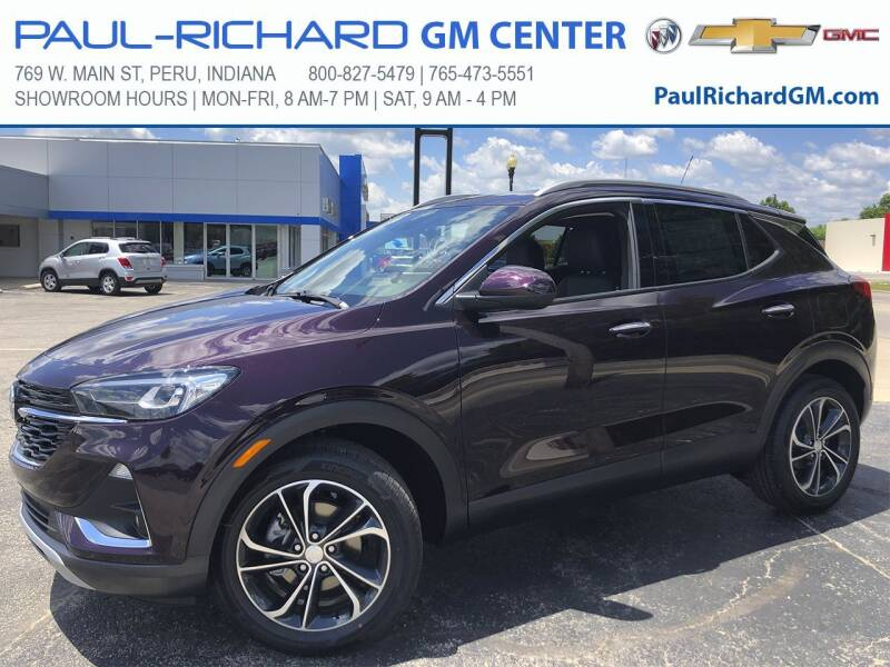2020 Buick Encore GX for sale at Paul-RICHARD Gm Ctr in Peru IN