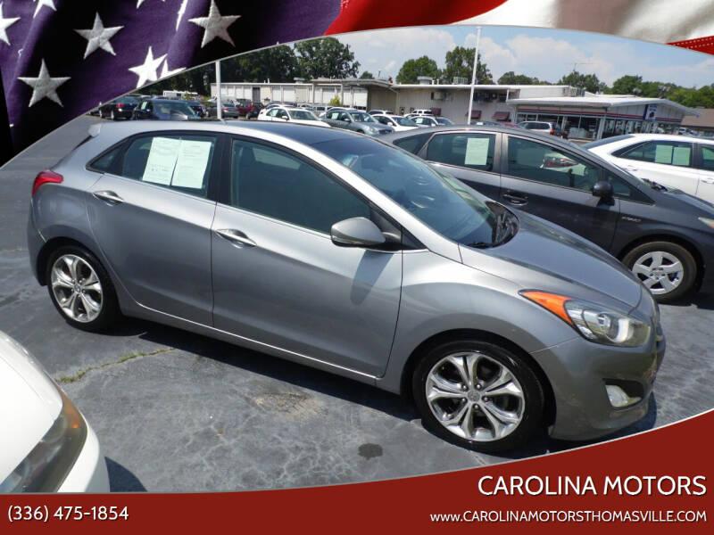 2013 Hyundai Elantra GT for sale at CAROLINA MOTORS in Thomasville NC